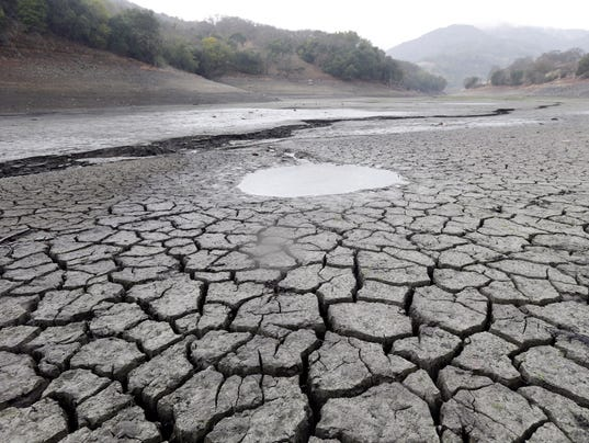 AP California Drought Rain