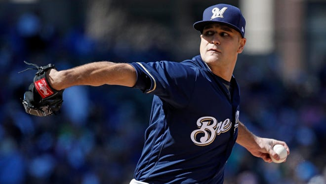 Dan Jennings has contributed to the Brewers' success in the bullpen this season.
