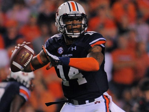 Nick Marshall and Auburn face No. 1 Alabama on Saturday in the Iron Bowl.