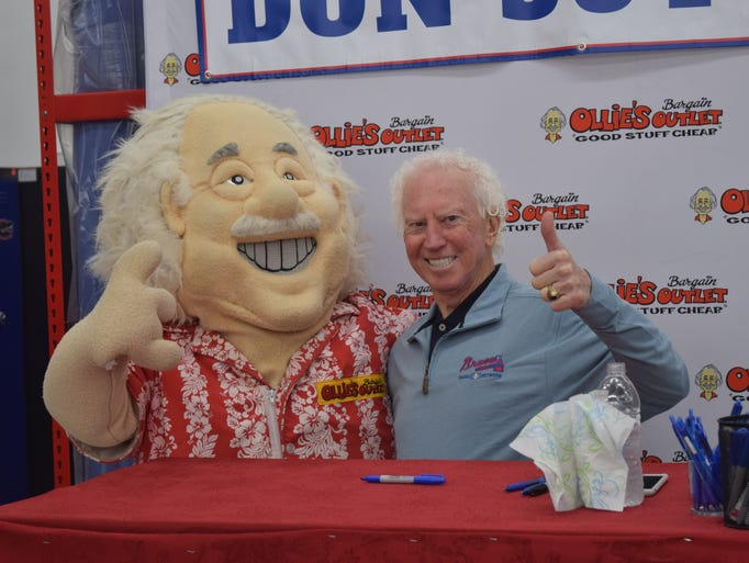 Don Sutton At Ollie S Bargain Outlet Opening