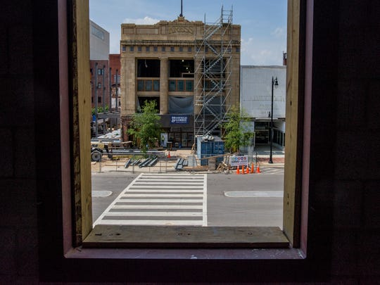Loft apartments in the under construction District 36 Lofts, managed by Foshee Management Company, in downtown Montgomery, Ala., on Friday June 17, 2016.