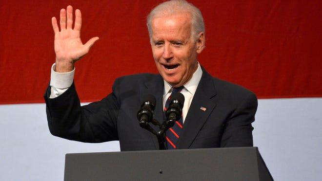 Vice President Joe Biden delivers the keynote at the annual Jefferson-Jackson Dinner on Nov. 2.
