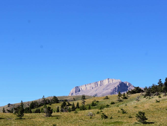 Ear Mountain is one of the most recognizable peaks