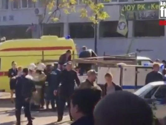 Crimea Gas Explosion