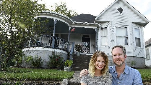 Dale Mackey and husband Shawn Poynter, seen on Sept. 3, 2015, rent space in their North Knoxville home to guests through Airbnb.
