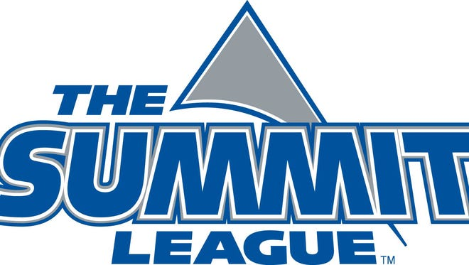 The Summit League logo.