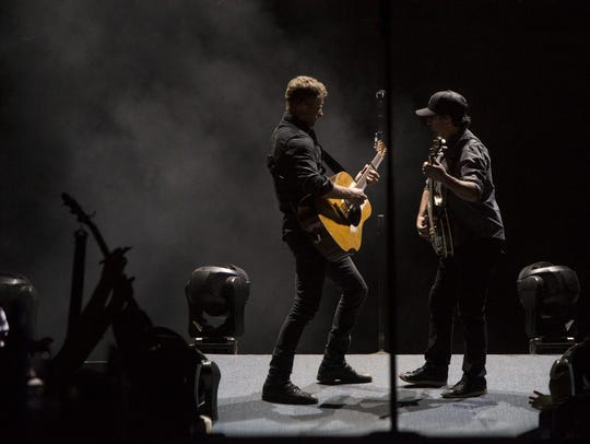 Dierks Bentley performs at Country Thunder in Florence,
