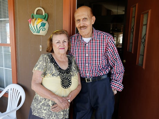 Jose Luis Badillo, standing with his wife Josefina, said he feels rejuvenated with the new tiny pacemaker.