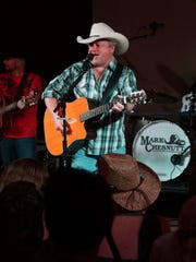 Country music star Mark Chesnutt performs at County Line Saloon in September 2016 in West Melbourne.