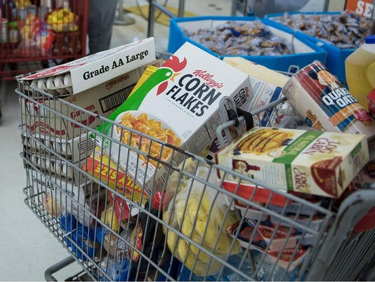 Generic grocery cart