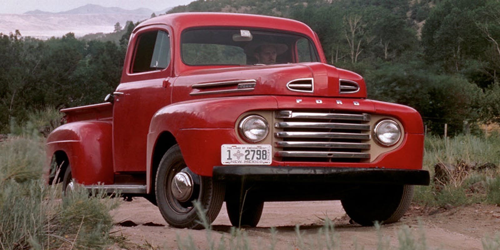 Ford Celebrates The 100th Anniversary Of Its Pickup Trucks 1941 F100 V8