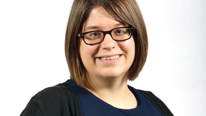 Post-Crescent Media reporter Holly Meyer. Sharon Cekada/Post-Crescent Media