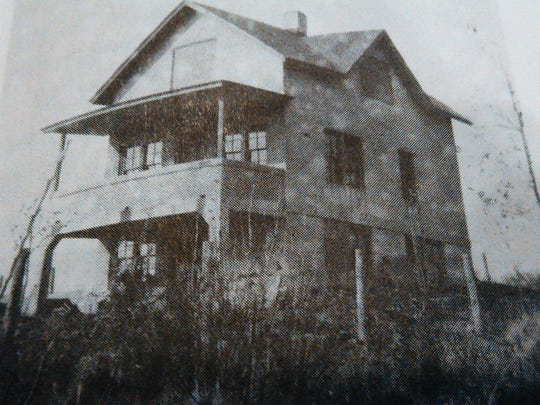 "This unfortunately-named ""pest house"" once located"