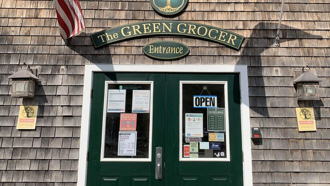 Shoppers at the Green Grocer can now order their products online.