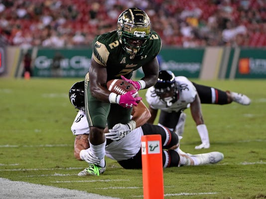 NCAA Football: Cincinnati at South Florida