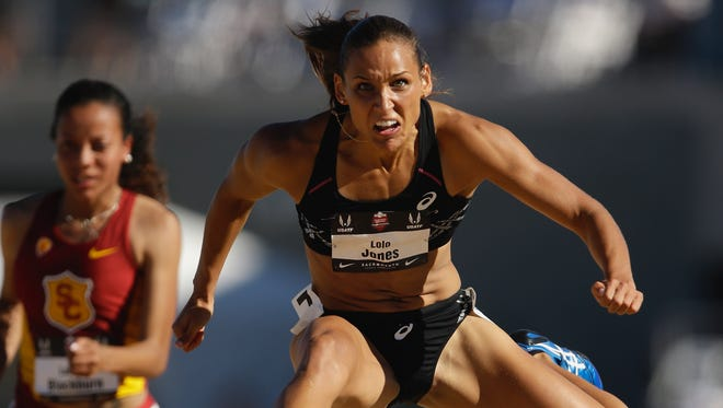 Des Moines native Lolo Jones pulled out of this week's Drake Relays, citing a recent training injury.