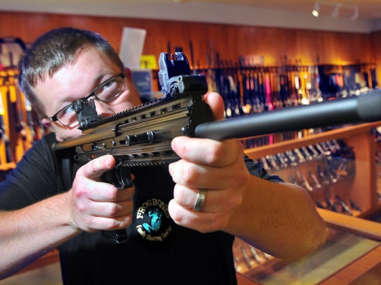 Doug Torpy of West Melbourne is a co-owner of FrogBones Family Shooting Center in Melbourne.