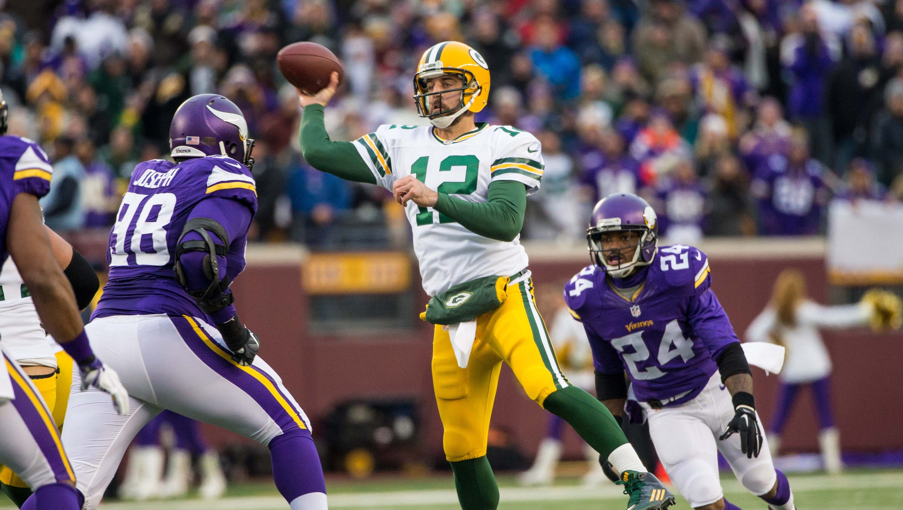 The star tribune 2019s matt vensel gives his three takes on the vikings-green bay game: 1 the vikings still have