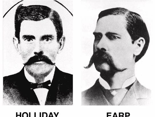 OCT 26.: On this date in 1881, Wyatt, Virgil and Morgan