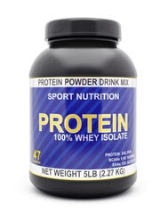 Protein shakes have become popular among people who
