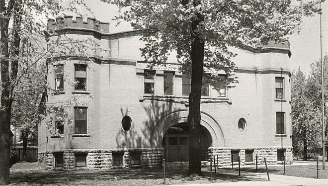 The armory was built and donated to the city of Neenah in 1906 by S.A. Cook, a Neenah businessman, mayor and congressman. The building was later home to shops and a restaurant before being demolished in the late 1980s. It was located at 526 N. Commercial St., Neenah.