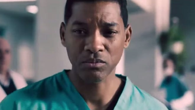 """Will Smith plays Bennet Omalu in the movie, """"Concussion."""""""
