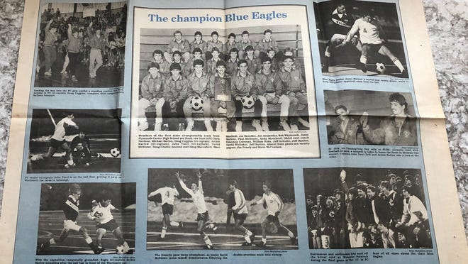 The 1986 Plymouth-Carver boys soccer team won the only state championship in program history.