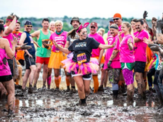 Participants in MuckFest raise money for The Multiple Sclerosis Society