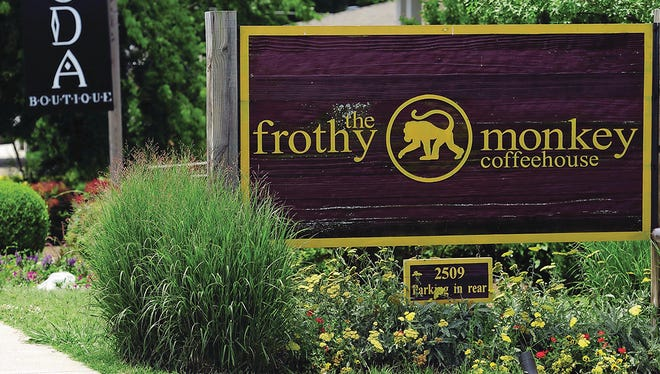 The Frothy Monkey is a popular hangout in 12 South.