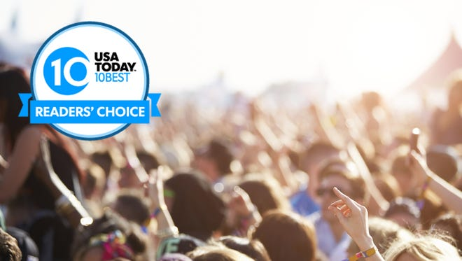 Where's your favorite place for alfresco music? Vote now through June 8 at noon ET.