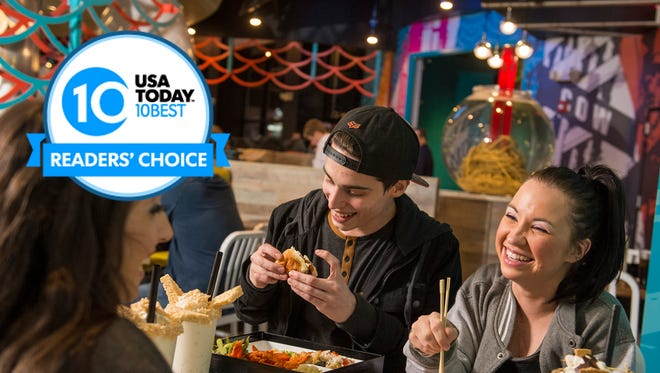Vote for the best amusement park restaurant in the 10Best Readers' Choice awards.