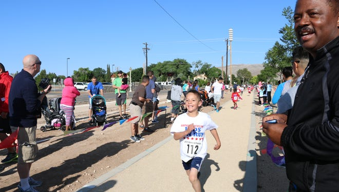 The Armed Forces Day Kids Run for Department of Defense dependents will be on May 14.