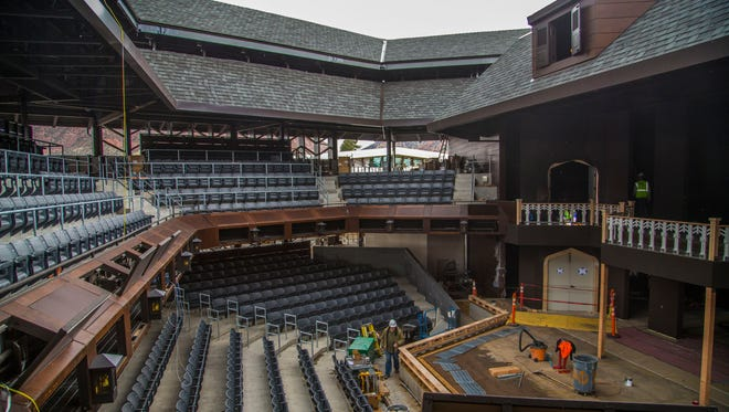 The new Engelstad Shakespeare Theatre is part of the Beverley Taylor Sorenson Center for the Arts at Southern Utah University in Cedar City.
