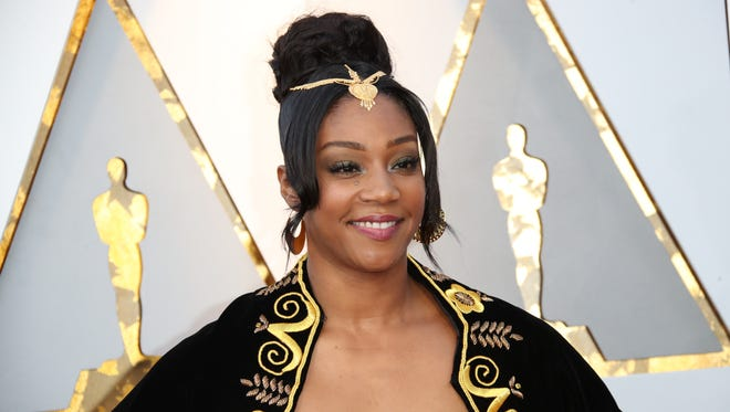 Tiffany Haddish at the Academy Awards on March 4, 2018, in Hollywood.