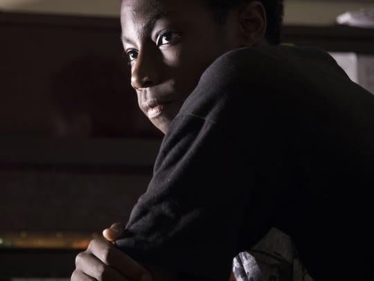 North Canyon 14-year-old, 6-foot-5 basketball Player