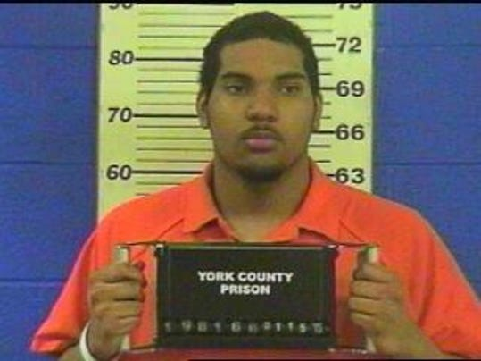 Tre Michael Turner, 21, of York, accused of assaulting a York County Prison correctional officer.