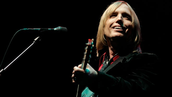 Tom Petty, seen here at the 2006 Bonnaroo Music and Arts Festival in Tennessee, suffered cardiac arrest leading up to his death Monday.