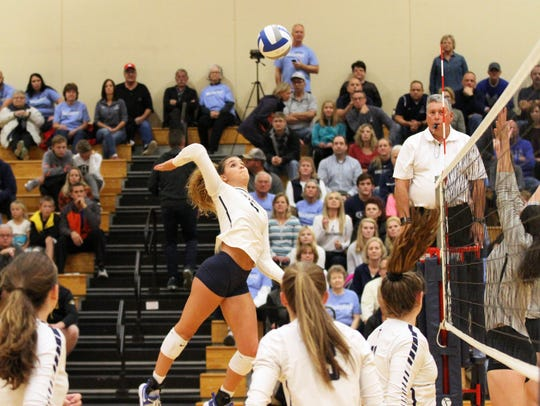 Lake Country Lutheran's Brooke Andersen winds up for