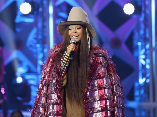 Erykah Badu also has daughters named Mars and Puma.