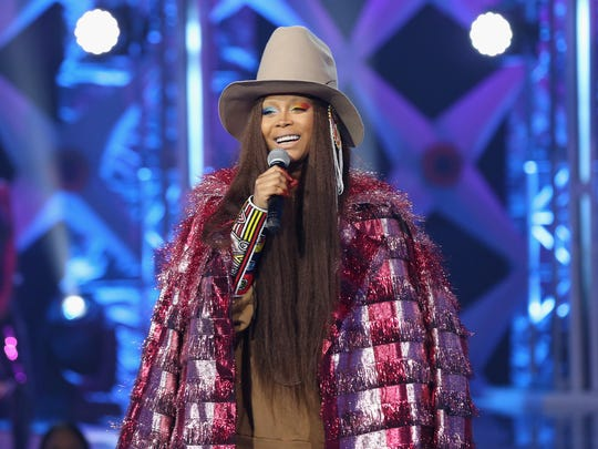 Erykah Badu will appear Sunday at the Beale Street Music Festival.