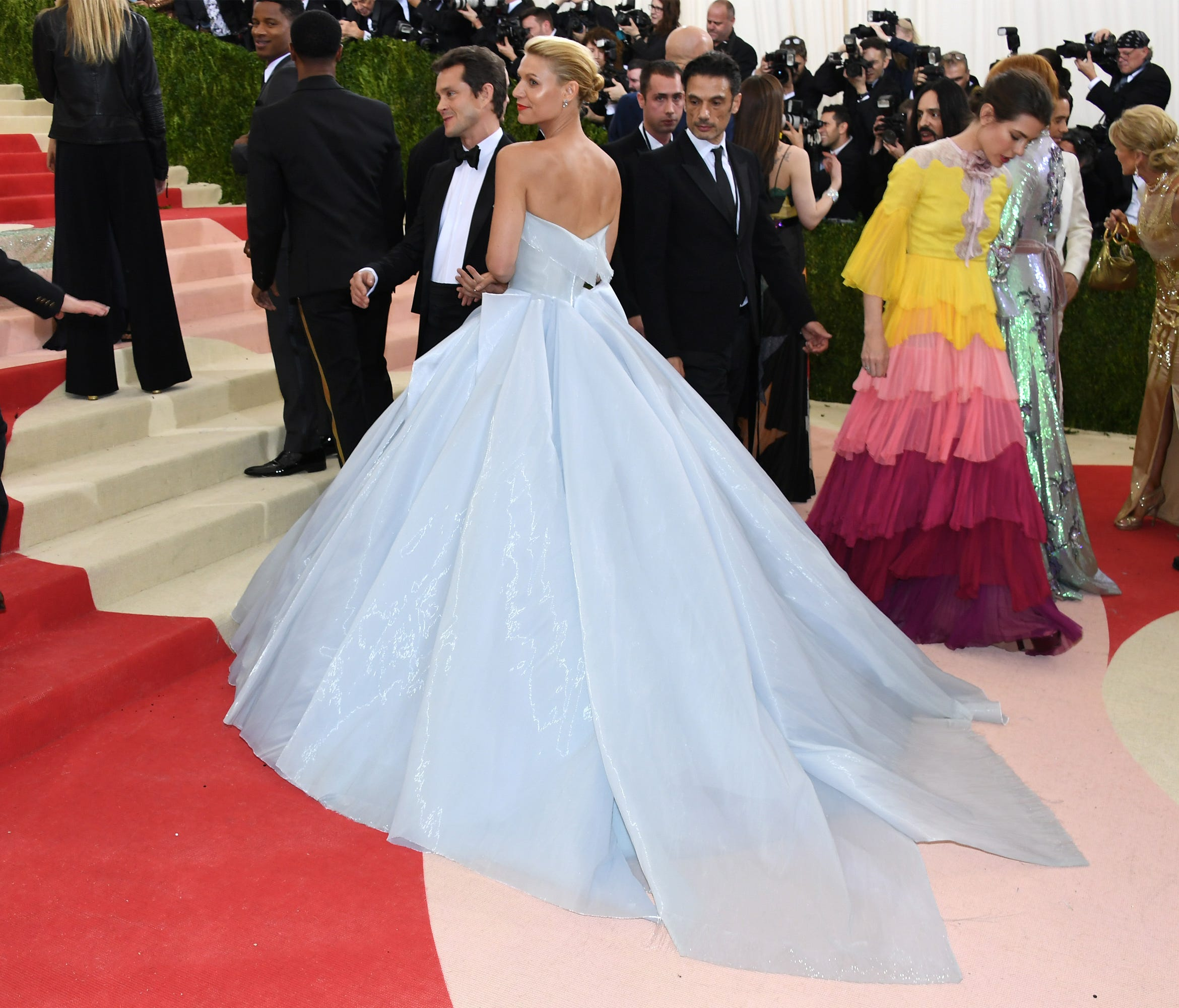 Marchesa, Zac Posen And Claire Danes Light Up The Met Gala
