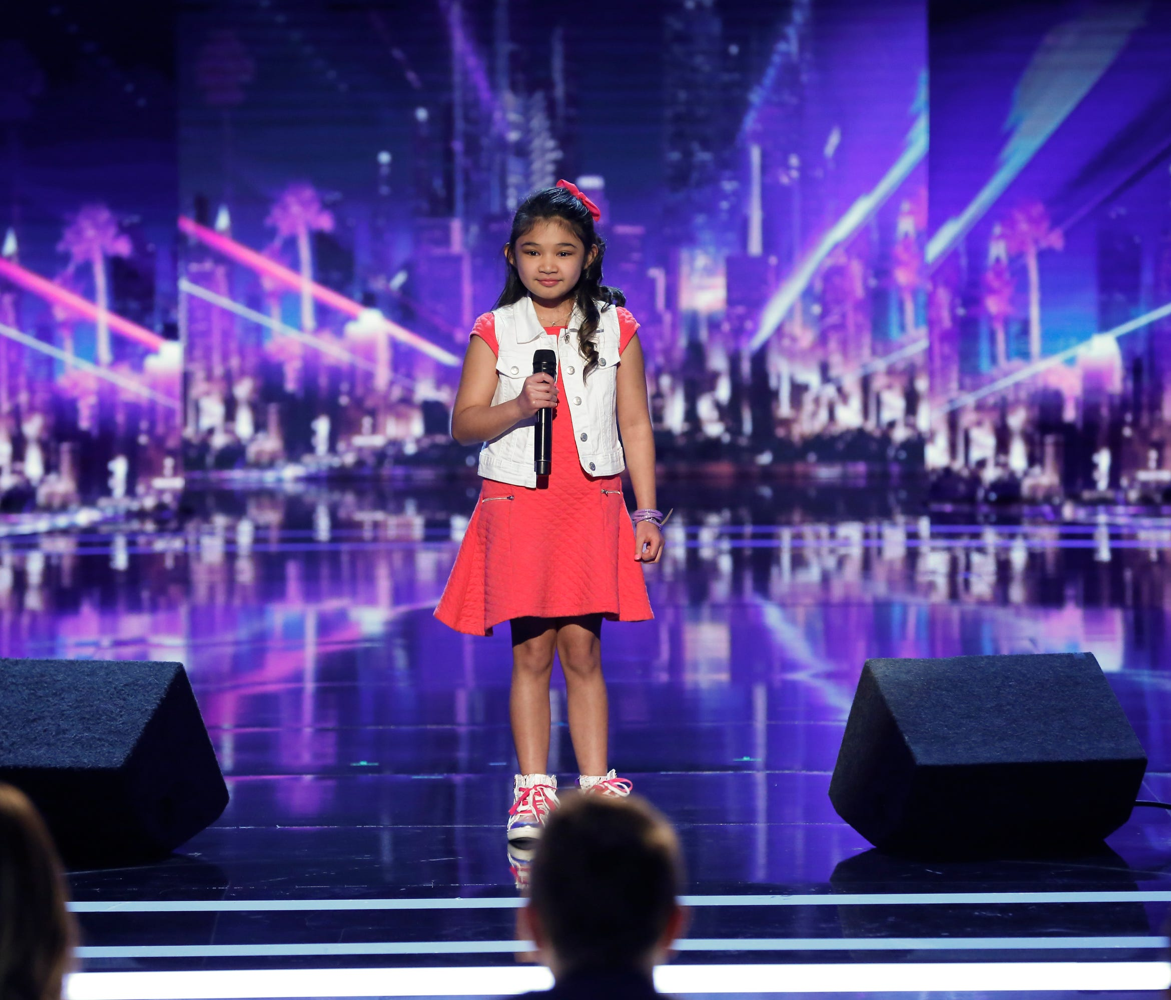 Angelica Hale gets the golden buzzer on 'America's Got Talent.'