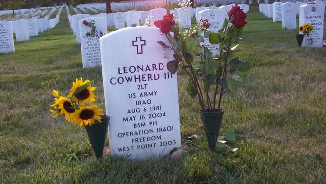 2nd Lt. Leonard M. Cowherd III is buried in Arlington National Cemetery.