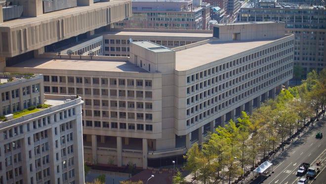 The FBI headquarters in Washington.