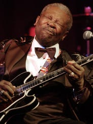 March 2, 2004 - Blues legend B.B. King performs at