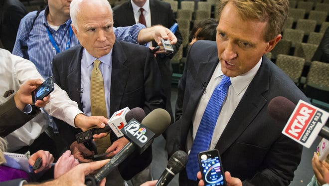 The year 2017 will help define the political careers of Arizona's Sens. John McCain and Jeff Flake.
