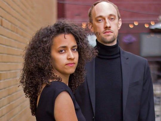 Rissel Peguero and Matt Hiillman met as students at