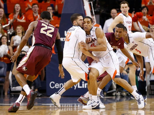 NCAA Basketball: Florida State at Virginia