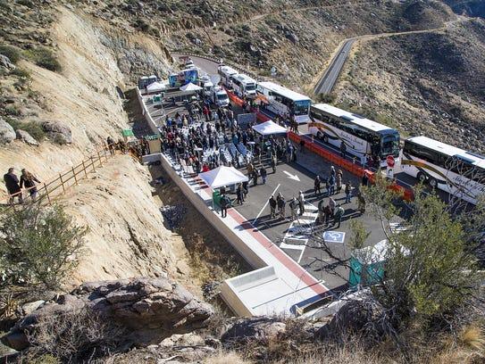 The dedication ceremony for the Granite Mountain Hotshots