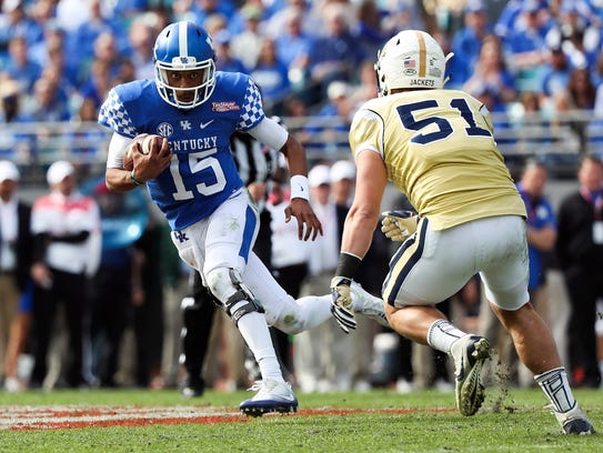 Kentucky quarterback Stephen Johnson is expected to